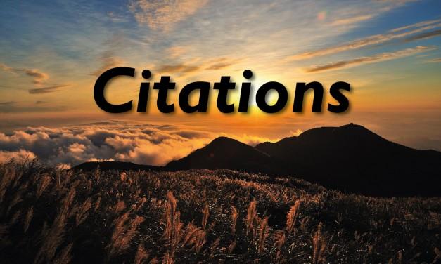10 Citations pour avancer
