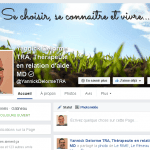 Page Facebook – Yannick Delorme TRA, Thérapeute en relation d'aide